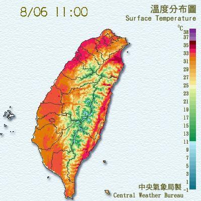 [新聞] 北風過山沉降 宜蘭高溫已達36度